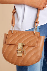 2 Goes With It All Brown Purse at reddressboutique.com