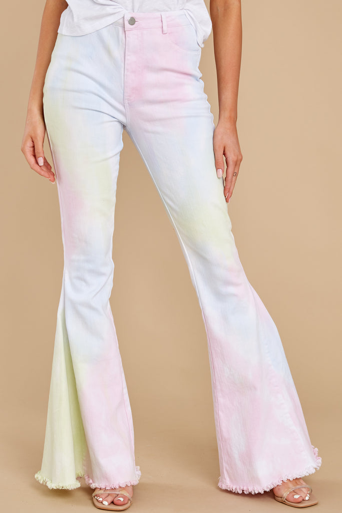 1 Diggin' These Red Flare Jeans at reddressboutique.com