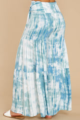 4 Magical Moment Blue Multi Tie Dye Pants at reddress.com