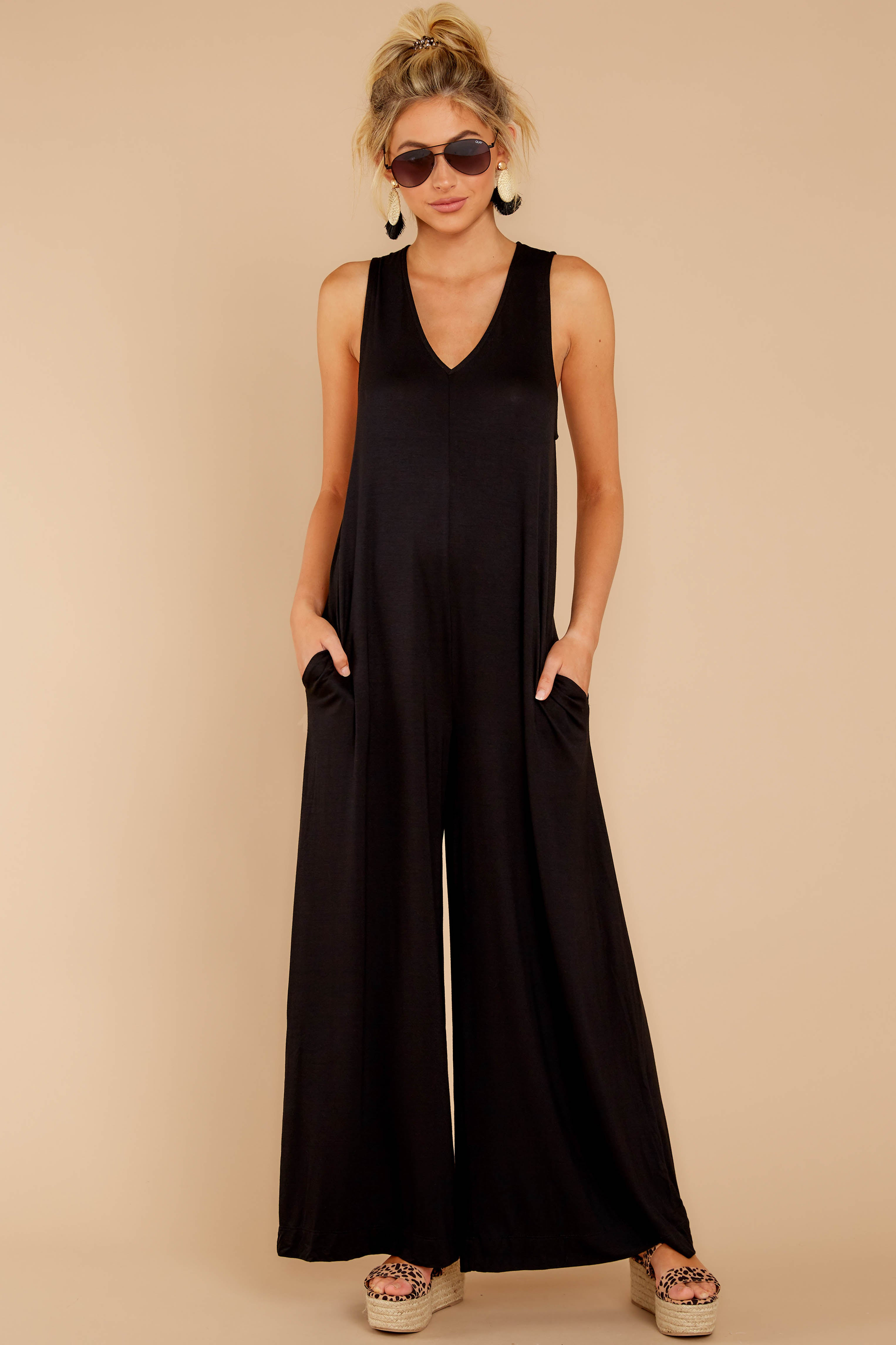 2 Prima Donna Black Jumpsuit at reddressboutique.com