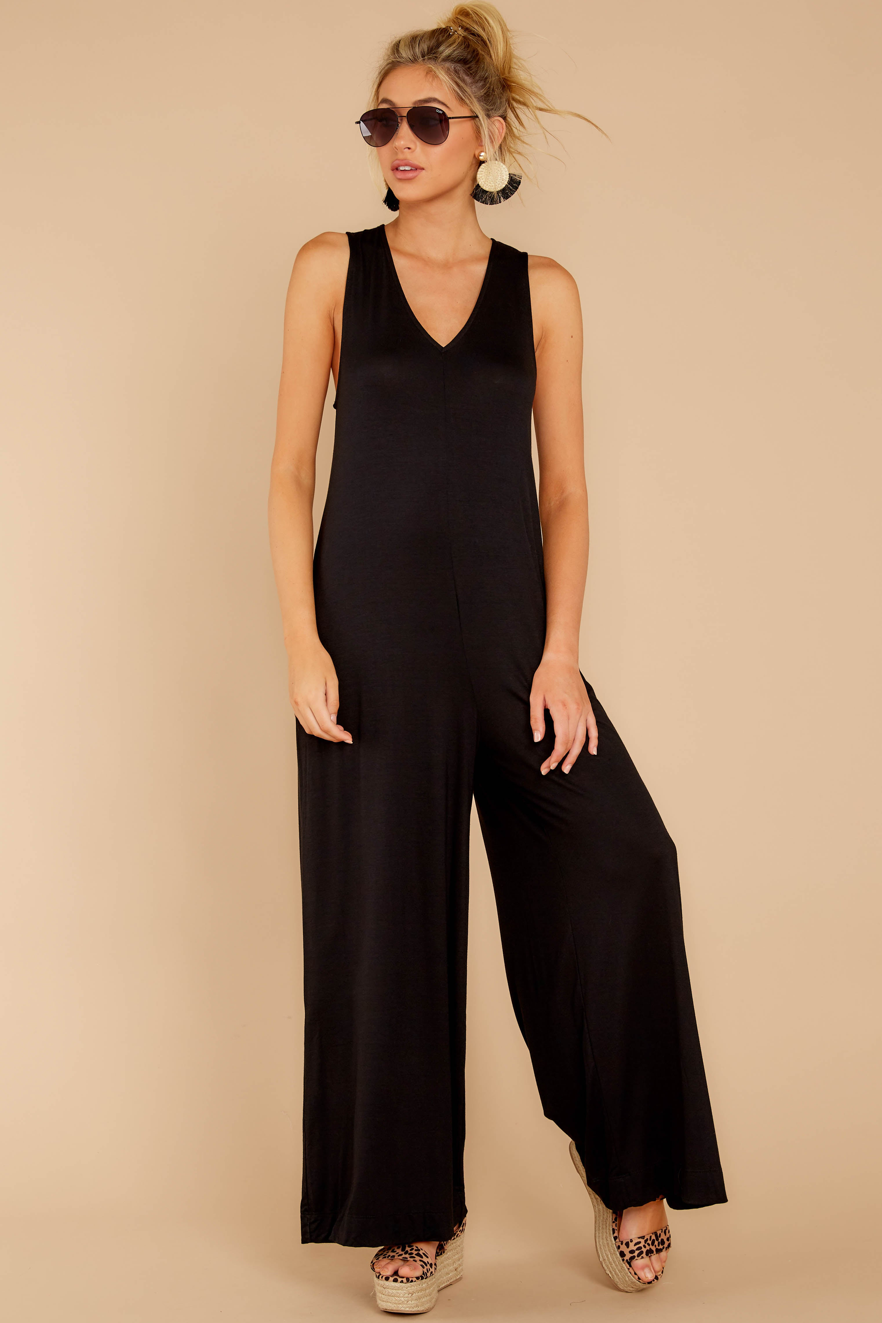1 Prima Donna Black Jumpsuit at reddressboutique.com