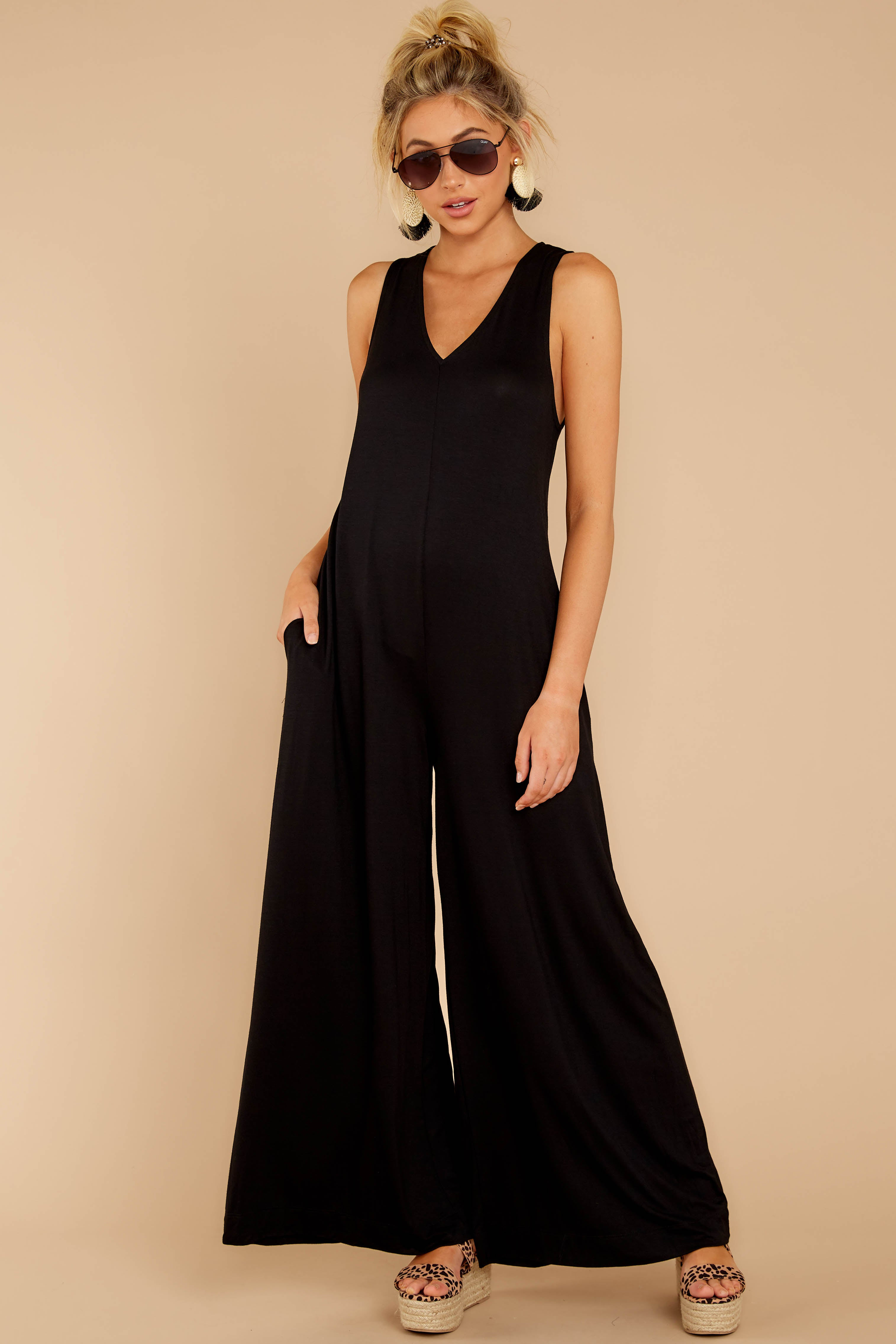3 Prima Donna Black Jumpsuit at reddressboutique.com