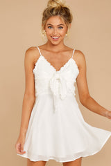 4 At The Oasis White Dress at reddressboutique.com