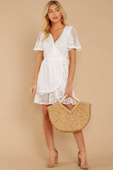 2 Redefine Graceful White Lace Dress at reddressboutique.com