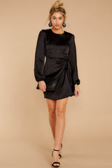 2 Foundational Brilliance Black Dress at reddressboutique.com