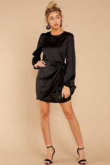 3 Foundational Brilliance Black Dress at reddressboutique.com