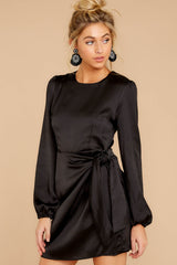 5 Foundational Brilliance Black Dress at reddressboutique.com