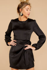 6 Foundational Brilliance Black Dress at reddressboutique.com