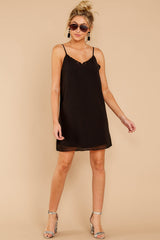 2 Effortless Style Black Dress at reddressboutique.com