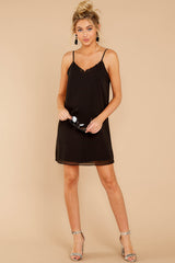 3 Effortless Style Black Dress at reddressboutique.com