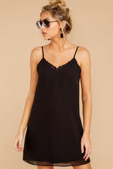 6 Effortless Style Black Dress at reddressboutique.com