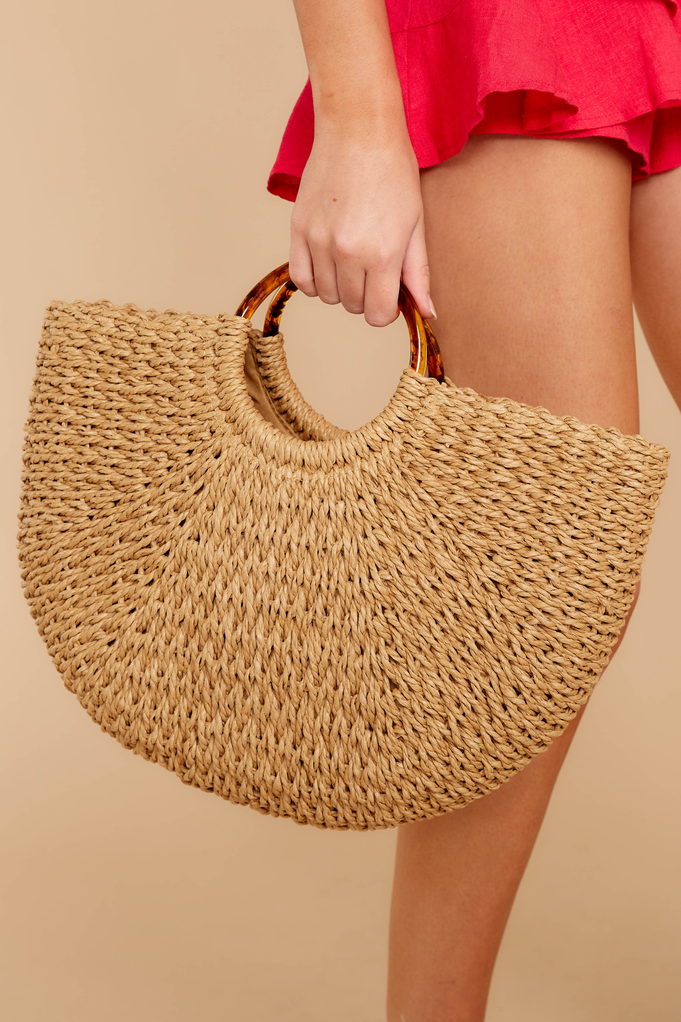 1 Going To Be Good Tan Bag at reddressboutique.com