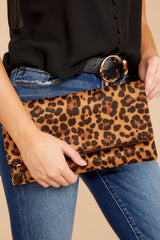 1 Going Out Leopard Print Clutch at reddress.com