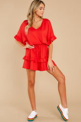 4 Serene Dream Red Romper at reddress.com