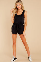 3 Never Let Go Black Romper at reddress.com