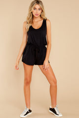 4 Never Let Go Black Romper at reddress.com
