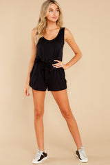 2 Never Let Go Black Romper at reddress.com