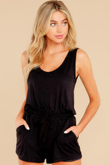 1 Never Let Go Black Romper at reddress.com