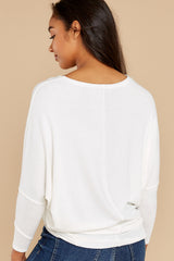 7 Like A Melody Ivory Tunic Top at reddress.com