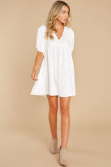 2 Being Subtle Off White Dress at reddress.com
