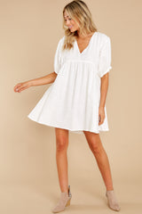 3 Being Subtle Off White Dress at reddress.com