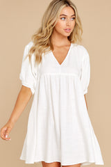 5 Being Subtle Off White Dress at reddress.com