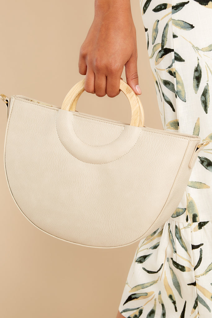 1 Why Of Course Ivory Bag at reddress.com