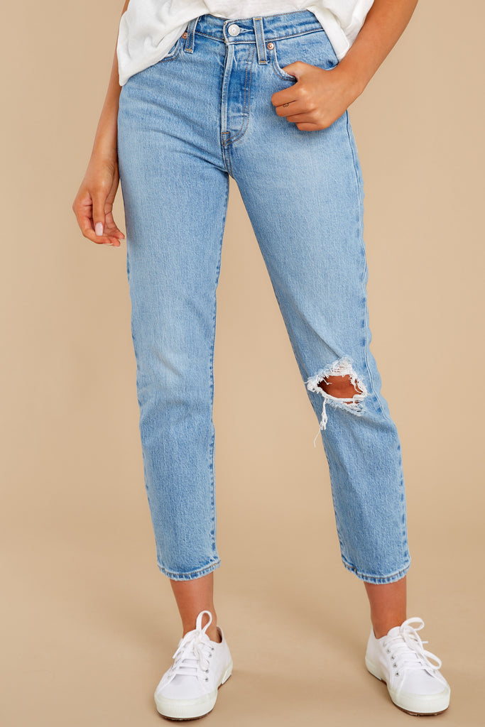 501® Crop Jeans in Full Stop