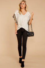 2 Trend Setting Leopard Multi Top at reddressboutique.com