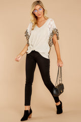 4 Trend Setting Leopard Multi Top at reddressboutique.com