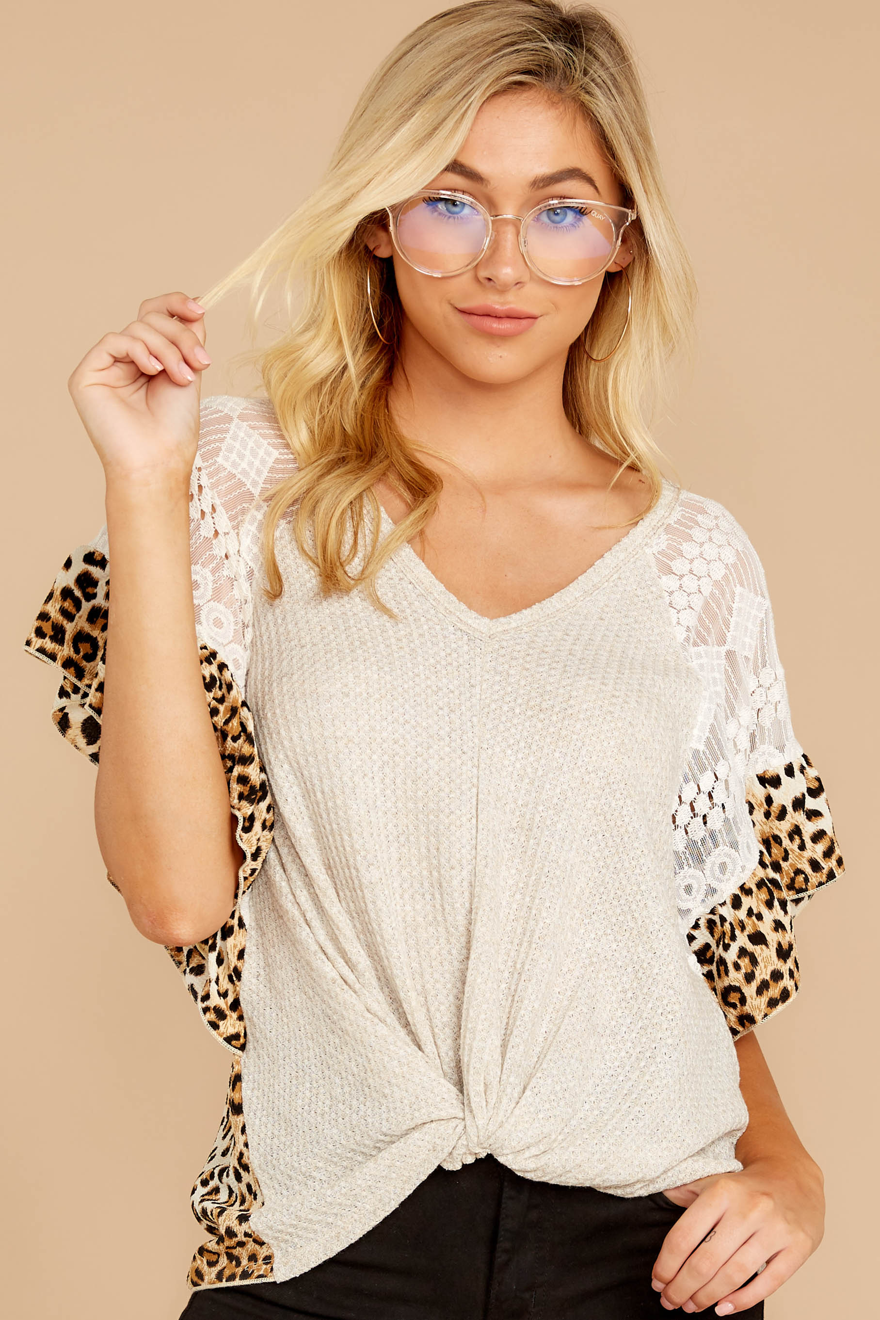 5 Trend Setting Leopard Multi Top at reddressboutique.com