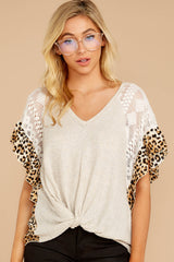 6 Trend Setting Leopard Multi Top at reddressboutique.com