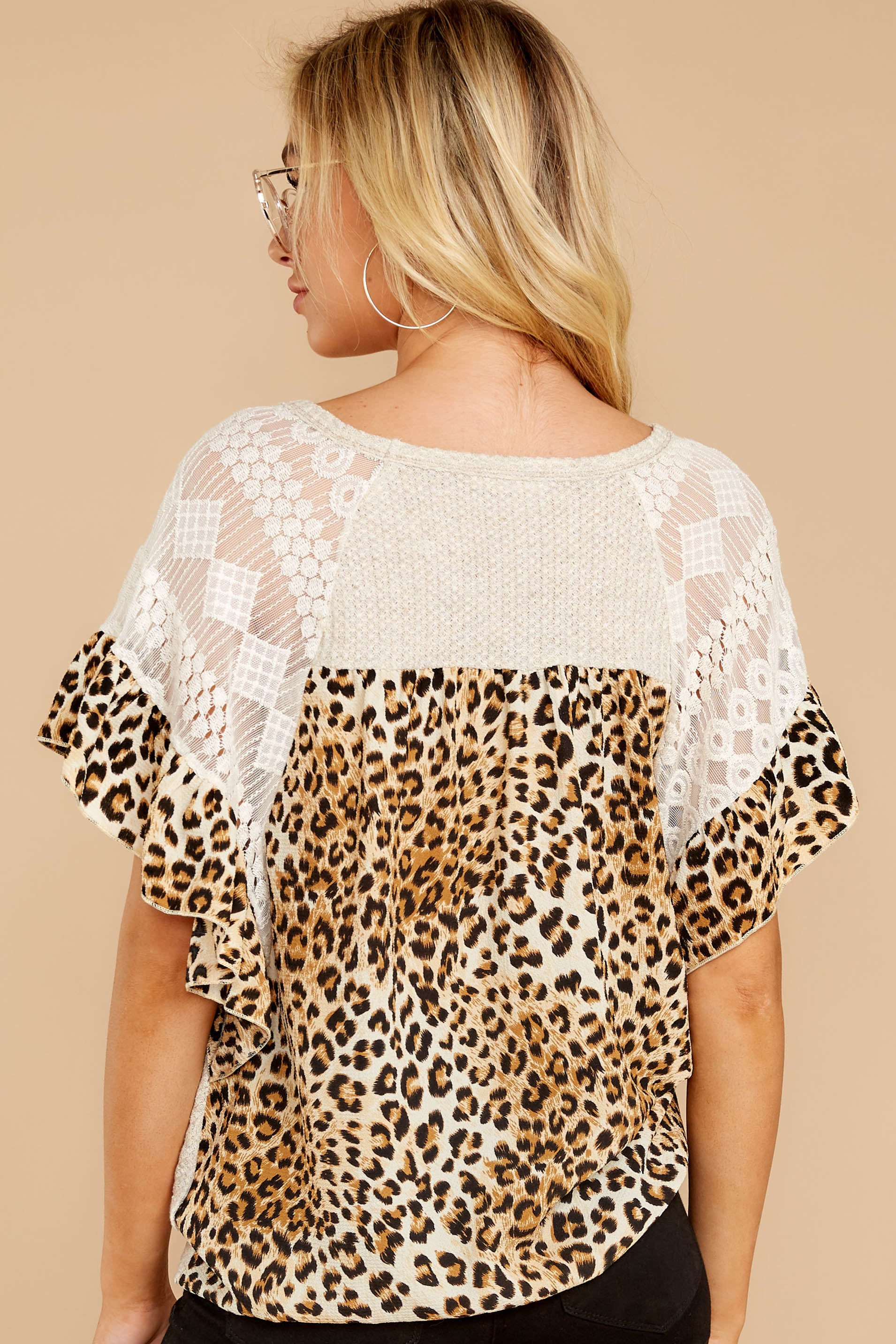 7 Trend Setting Leopard Multi Top at reddressboutique.com