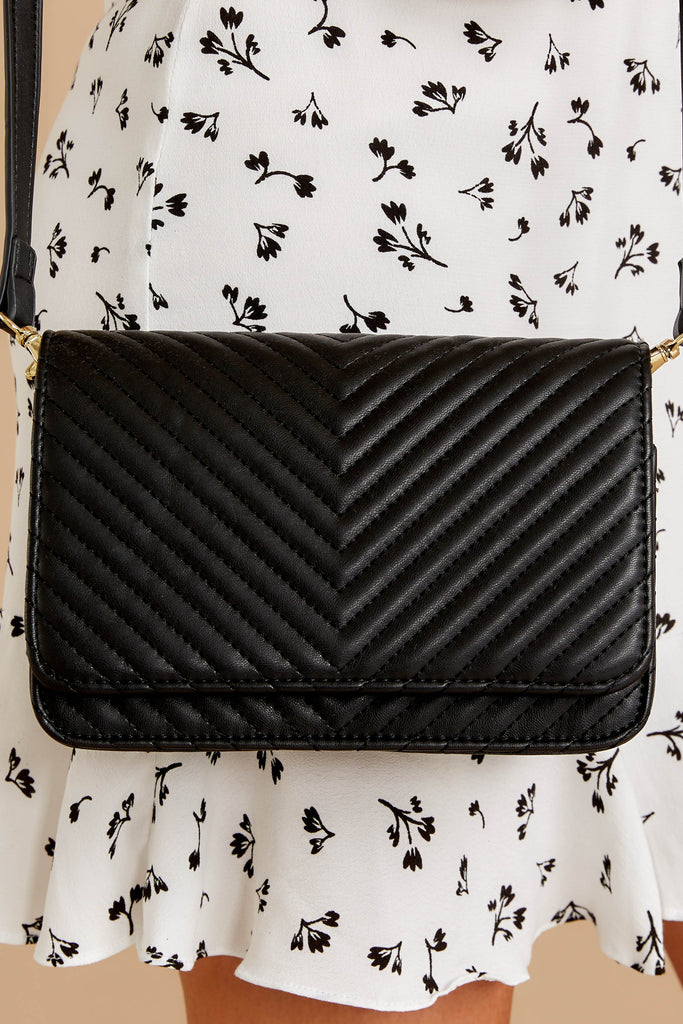1 Known Too Well Black Clutch at reddressboutique.com