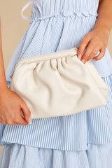 1 A Rare Gem Ivory Vegan Leather Crossbody Bag at reddress.com