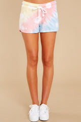 2 Summer Of '69 Sky Blossom Tie Dye Shorts at reddress.com