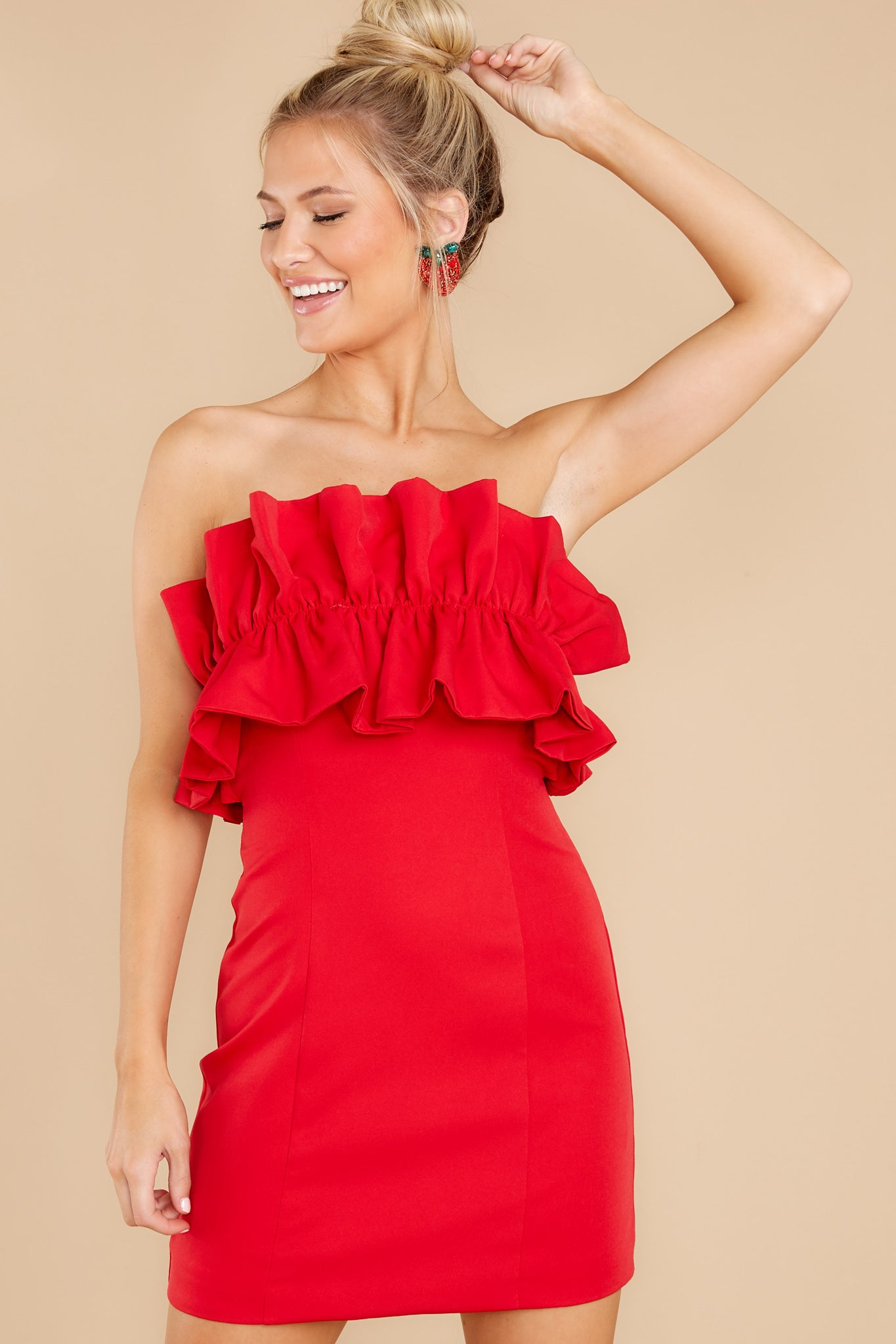 80s Fashion— What Women Wore in the 1980s Waltz By Red Dress $46.00 AT vintagedancer.com