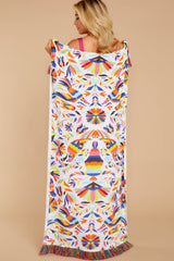 1 Shoreline Perch Pink Multi Bird Print Towel at reddressboutique.com