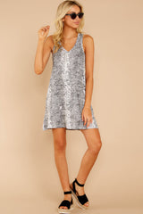 2 The Grey Snakeskin Breezy Dress at reddress.com