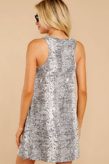 6 The Grey Snakeskin Breezy Dress at reddress.com