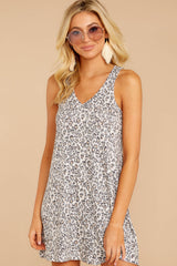 4 The Leopard Breezy Dress at reddressboutique.com