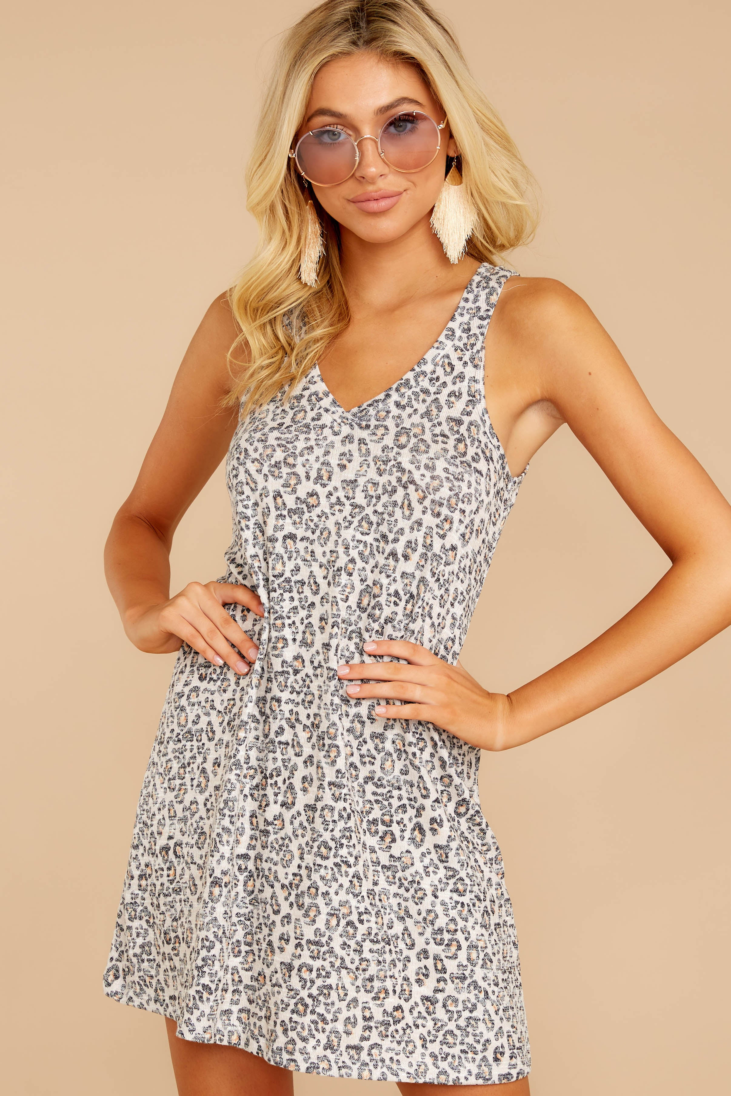 6 The Leopard Breezy Dress at reddressboutique.com