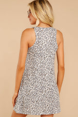 7 The Leopard Breezy Dress at reddressboutique.com