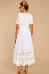 8 Ladies Luncheon White Maxi Dress at reddressboutique.com