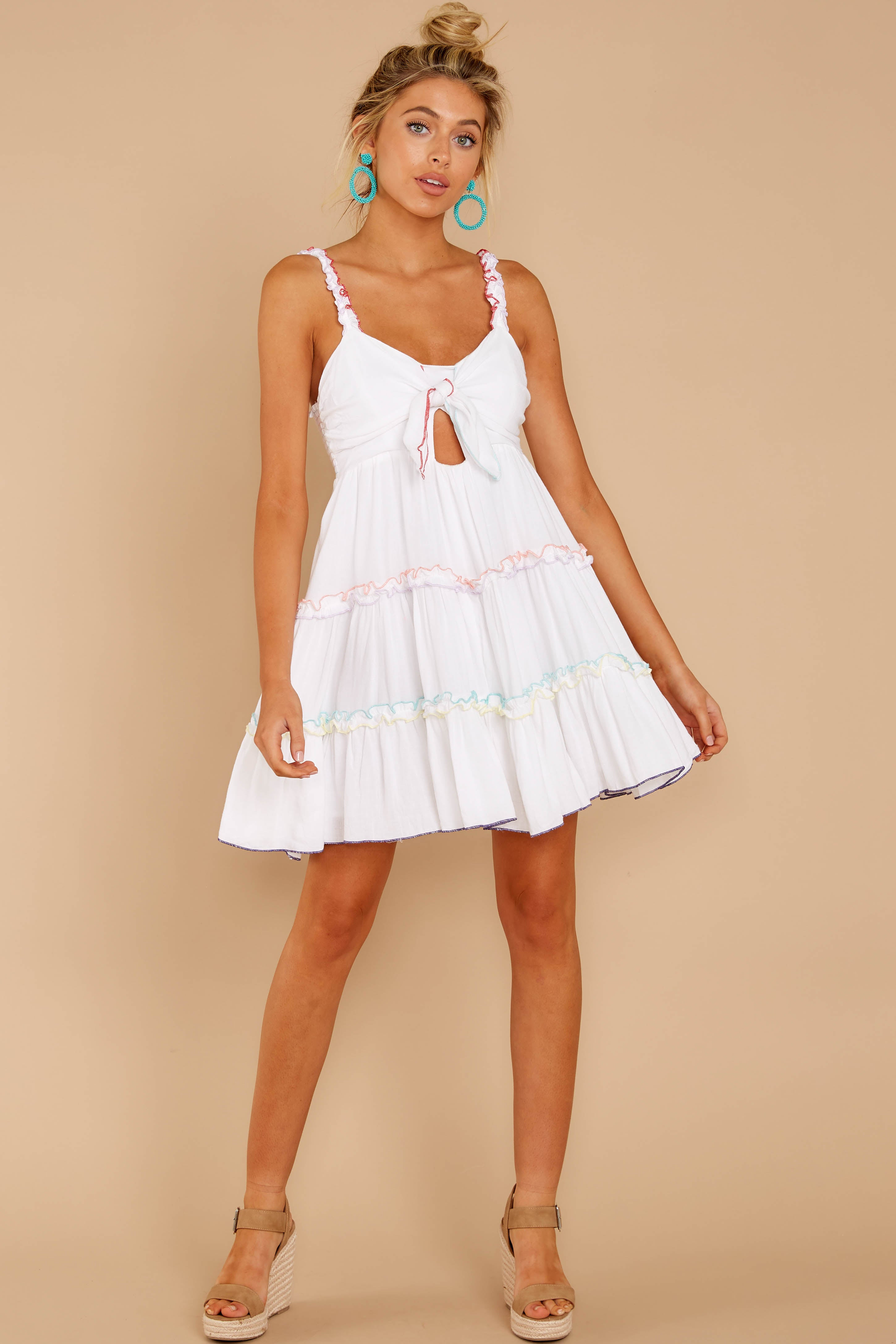 1 All The Pretties White Dress at reddressboutique.com