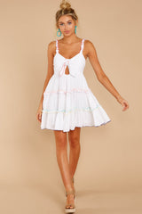 2 All The Pretties White Dress at reddressboutique.com