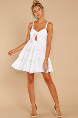 3 All The Pretties White Dress at reddressboutique.com