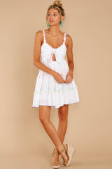4 All The Pretties White Dress at reddressboutique.com