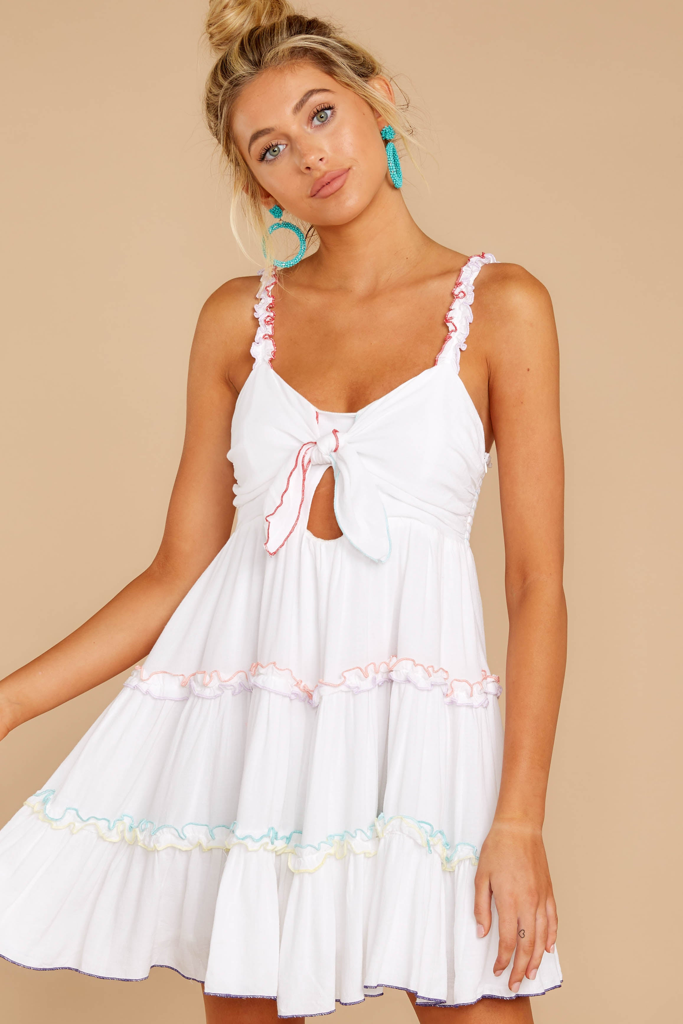 5 All The Pretties White Dress at reddressboutique.com