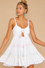 6 All The Pretties White Dress at reddressboutique.com